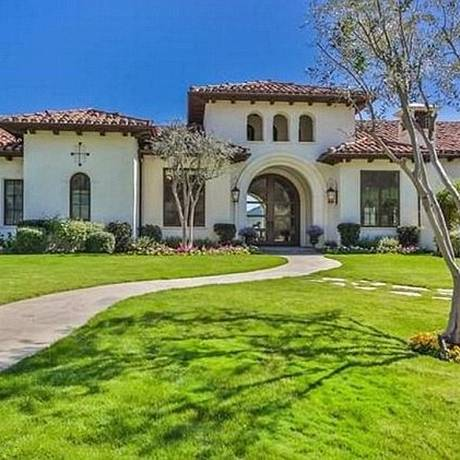 A fachada da casa de Britney Foto: © Open House