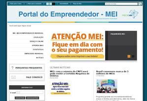Siter do Microempreendedor individual MEI