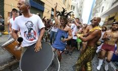 Criado por cineastas saudosos do carnaval de Recife, em 2006, o Me Beija arrasta mais de cinco mil foliões Foto: Marcia Foletto / Agência O Globo
