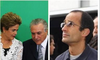 Marcelo Odebrecht vai depor sobre a chapa Dilma-Temer Foto: Montagem/O GLOBO