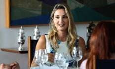 A primeira dama, Marcela Temer, com as primeiras damas dos estados no Palácio do Alvorada no início de fevereiro Foto: Jorge William / Agência O Globo / 9-2-2017