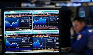 Terminal da Bloomberg Foto: Divulgação