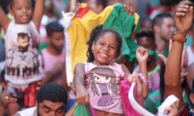 RI - Rio, 01/03/2017, Carnaval 2017 / Quadra da Mangueira - Apuração dos desfiles das escolas de samba do grupo especial. Na foto, quadra da Mangueira. Foto: Márcio Alves / Agência O Globo Foto: Márcio Alves / Agência O Globo