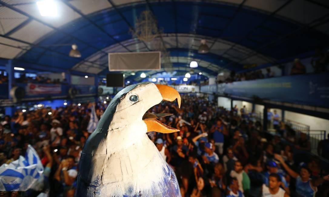 A virada da Águia Altaneira veio no último quesito: enredo Foto: Pablo Jacob / Pablo Jacob