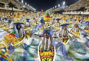 Desfile das Escolas de Samba do Grupo Especial - Portela Foto: Guito Moreto / Agência O Globo