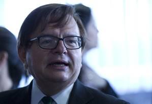 O ministro Herman Benjamin, do Tribunal Superior Eleitoral Foto: Michel Filho / Agência O Globo / 23-2-2017