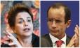 A ex-presidente Dilma Rousseff e o empresário Marcelo Odebrecht