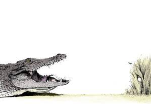 A FERA E A BELA. Ilustração do livro