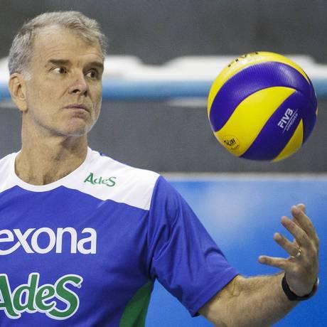 Bernardinho é dono de 11 títulos nacionais com o Rexona-Sesc Foto: Divulgação