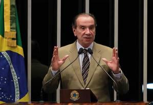 O senador Aloysio Nunes Foto: Ailton de Freitas / Agência O Globo