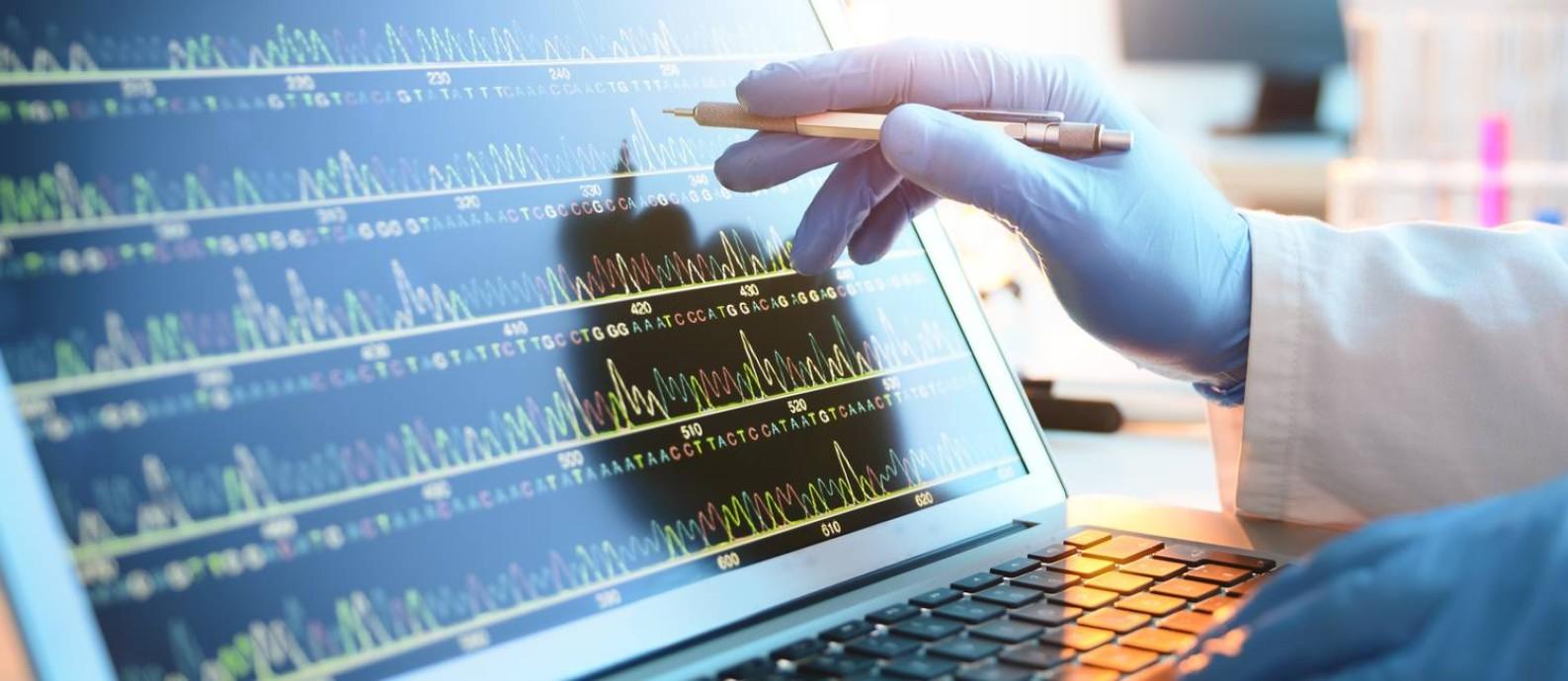 O código binário foi traduzido para bases do DNA: A, C, G e T Foto: Divulgação/Twist Bioscience