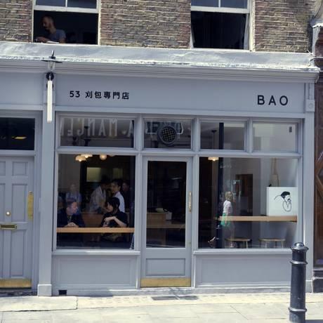 Bao, em Londres Foto: Andrea D'Egmont