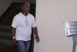 Francisco Assis Lopes, motorista do carro alegórico da Tuiuti que atropelou 20 pessoas na Sapucaí Foto: Cléber Júnior / O Globo