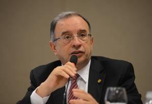 José Carlos Martins, presidente da CBIC/TCU Foto: Elza Fiúza / Agência Brasil