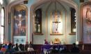 Muitos imigrantes desapareceram das cerimônias na Igreja Nossa Senhora das Américas, em Washington, que tem missas em espanhol Foto: Henrique Gomes Batista