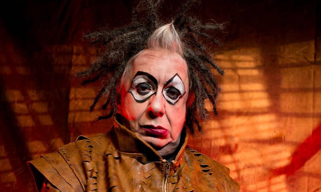 O ator Marco Nanini em 'Ubu Rei' Foto: Divulgação / Carlos Cabéra