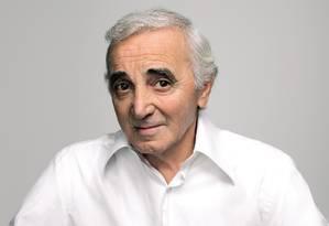 Charles Aznavour Foto: Divulgação