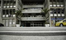 A fachada da Universidade do Estado do Rio de Janeiro (Uerj) Foto: Fernando Lemos / Agência O Globo