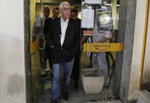 Fernando Horta, presidente da Unidos da Tijuca Foto: Alexandre Cassiano / O Globo