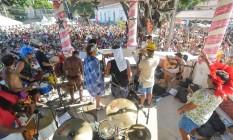 Pérola da Guanabara se apresenta no coreto da Praça São roque em Paquetá Foto: Ivanildo Carmo/ Divulgação