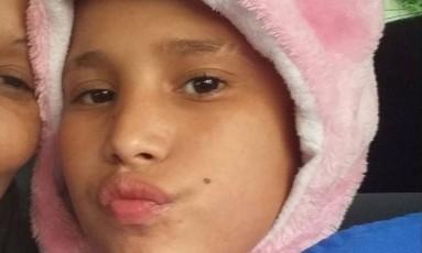 João Victor Souza de Carvalho, de 13 anos, morreu após confusão envolvendo funcionários da rede de lanchonete Habib's, em São Paulo Foto: Reprodução