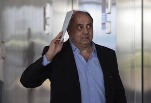 Ex-executivo Hilberto Mascarenhas Alves da Silva Filho, apontado como o líder do Departamento da Propina da Odebrecht Foto: Jorge William / Agência O Globo