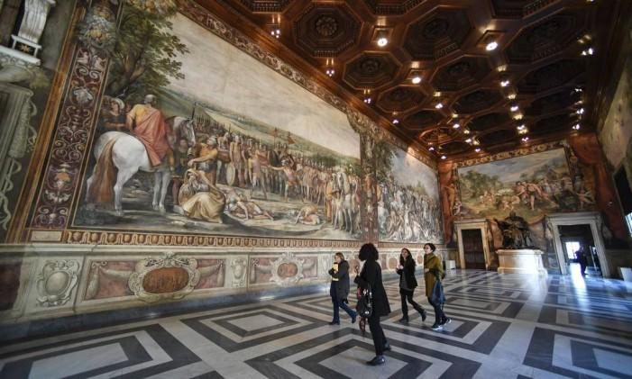 Museu Capitolino de Roma Foto: Andreas Solaro / AFP