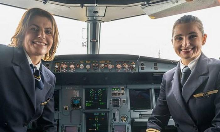 Mulheres pilotos da Lufthansa Foto: Divulgação