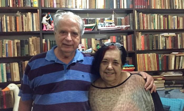 Rosa Magalhães e Luis Carlos Magalhães, presidente da Portela Foto: Divulgação