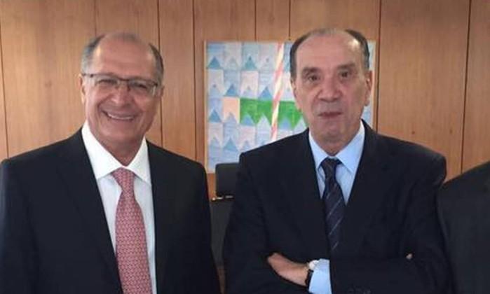 Resultado de imagem para alckmin posse aloysio