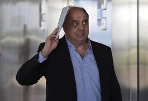 O ex-executivo da Odebrecht Hilberto Mascarenhas, apontado como o líder do Departamento da Propina Foto: Jorge William / Agência O Globo / 6-3-2017