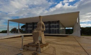 Fachada do Supremo Tribunal Federal. Foto: Dorivan Marinho / STF / Divulgação
