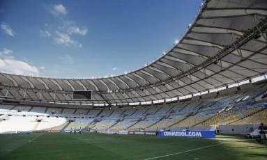 Estádio do Maracanã Foto: Alexandre Cassiano / Agência O Globo