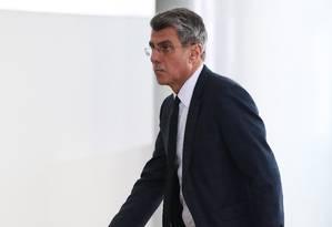 O senador Romero Jucá (PMDB-RR), líder do governo no Senado e presidente do PMDB Foto: Jorge William / Agência O Globo/07-03-2017