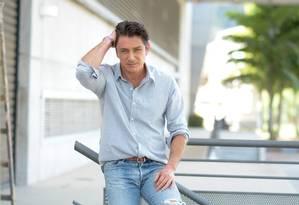 Petrônio Gontijo, em 2015, quando atuou na novela 'Os Dez Mandamentos' Foto: Michel Angelo / Rede Record de TV/Divulgação