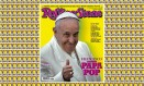 """Foto do Papa Francisco estampa a edição de março da """"Rolling Stone Itália"""" Foto: REPRODUÇÃO"""