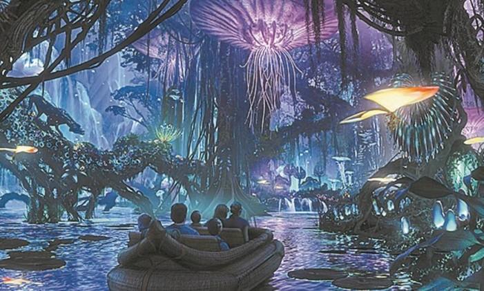 Pandora em Orlando Foto: Projeção Walt Disney Imagineering