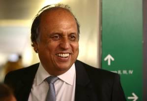 Luiz Fernando Pezão, governador do estado do Rio de Janeiro Foto: Jorge William / Agência O Globo