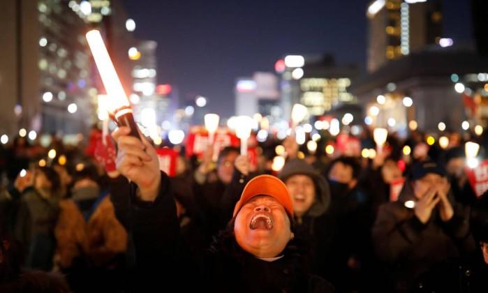 Coreia do Sul. A queda da