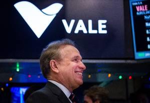 Murilo Ferreira, presidente da Vale Foto: Michael Nagle/Bloomberg/29-6-2016