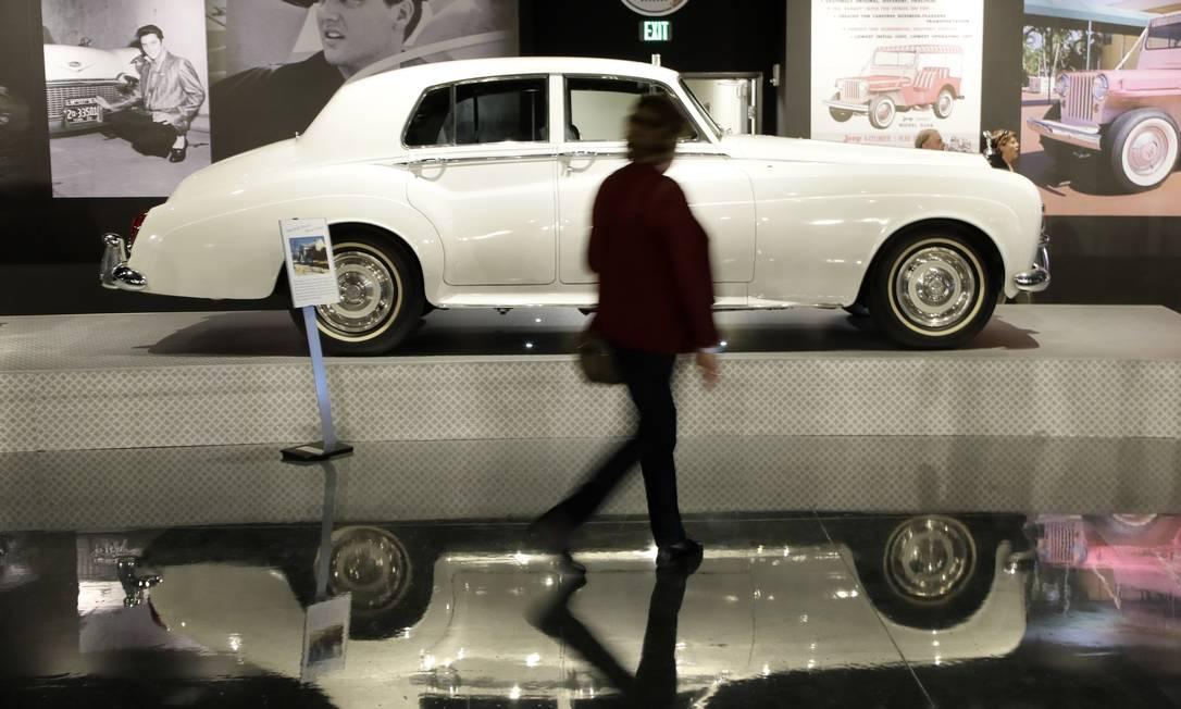 O novo Elvis Presley Automobile Museum é parte integrante do complexo Mark Humphrey / AP