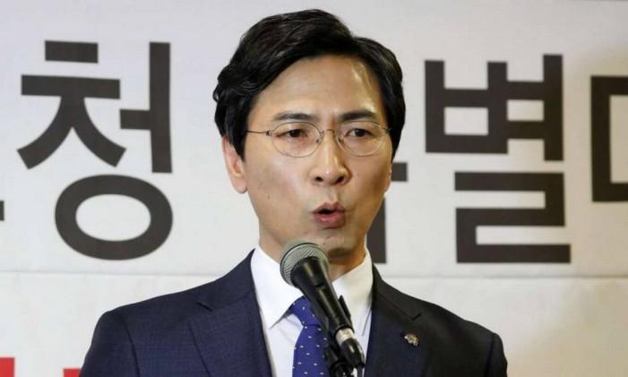 An Hee-jung é chamado de 'Obama sul-coreano' Foto: Reuters