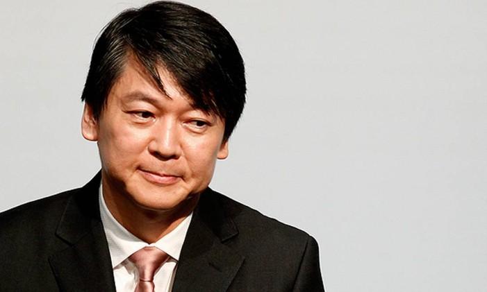 Ahn Cheol-soo é empresário de sucesso Foto: Reuters