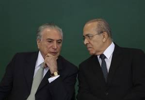 """Interlocutores de Michel Temer dizem que o presidente quer ter """"conversa franca"""" com Padilha Foto: Jorge William / Agência O Globo"""