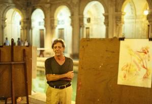 O artista Gianguido Bonfanti Foto: Daniel Marenco / Agência O Globo
