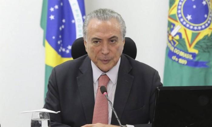 Gilmar Mendes diz que, mesmo cassado, Temer pode sair elegível no TSE