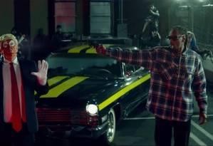 Cena do clipe de Snoop Dogg Foto: Reprodução do Youtube