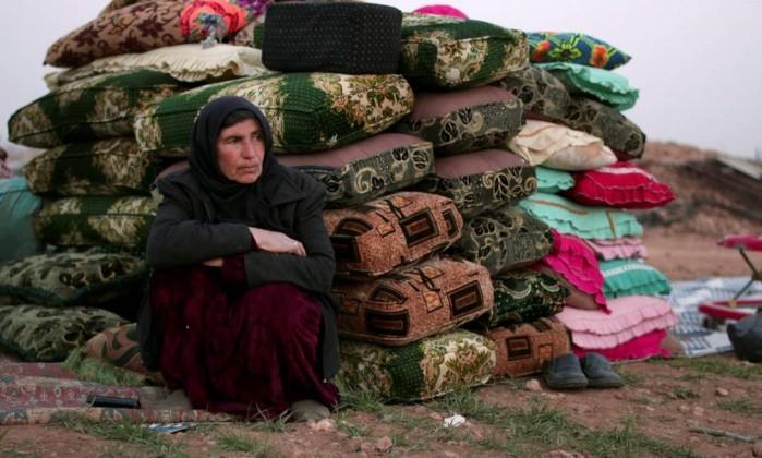 Em seis anos, guerra síria expulsou metade da população
