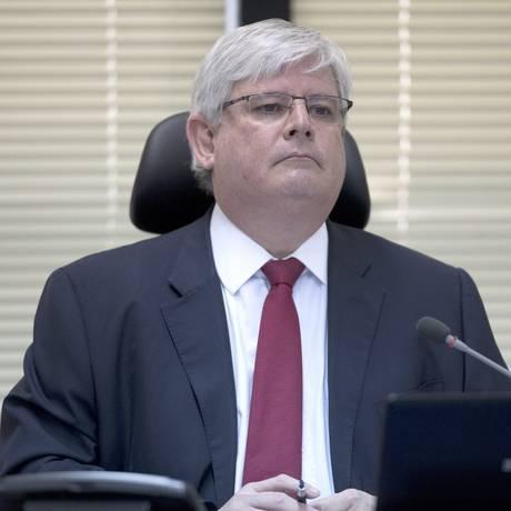 Rodrigo Janot, procurador-geral da República Foto: Jorge William / Agência O Globo