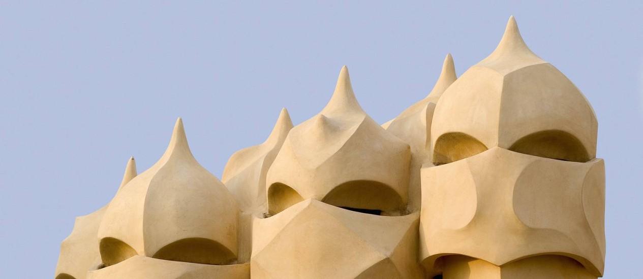 Gaudí: Imagem da Casa Milà ou La Pedrera (1905-1910) Foto: Divulgação